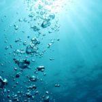 Ampollas de agua de mar
