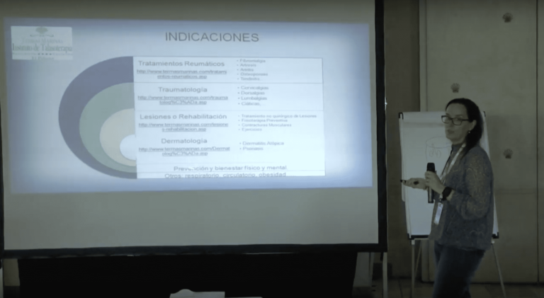 Dra. Araceli Muela - Seminario Terapia Marina de Castellón