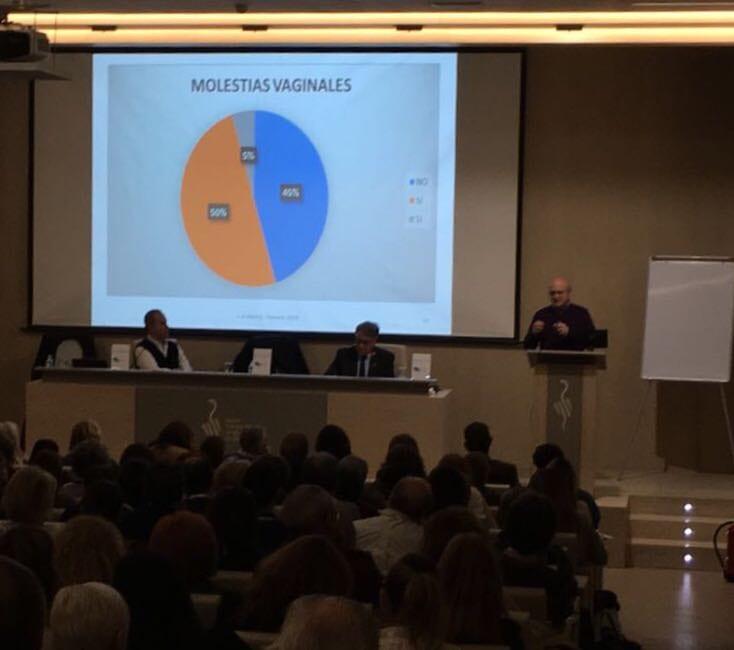 Dr. Marco Chover en Seminario Terapia Marina Valencia