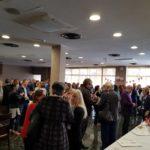 Pausa café en el Seminario de Terapia Marina de Valencia